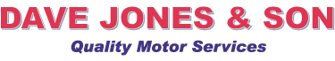 Dave Jones and Son Quality Motor Services Logo